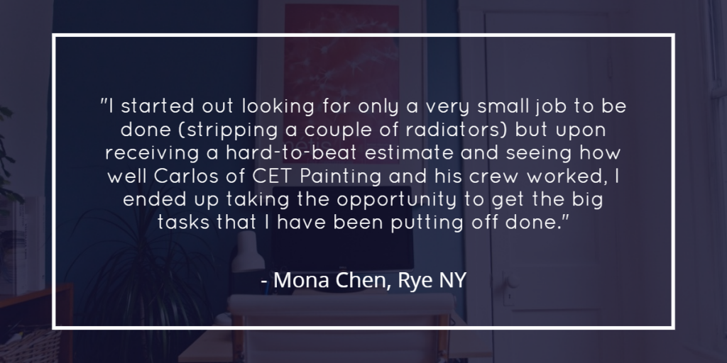 Review for CET Painting of Ossining NY
